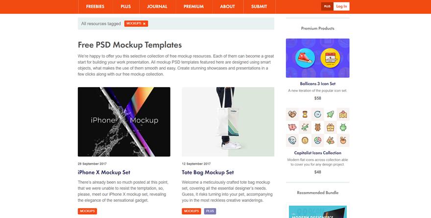 Mockup資源設計 | 設計迷